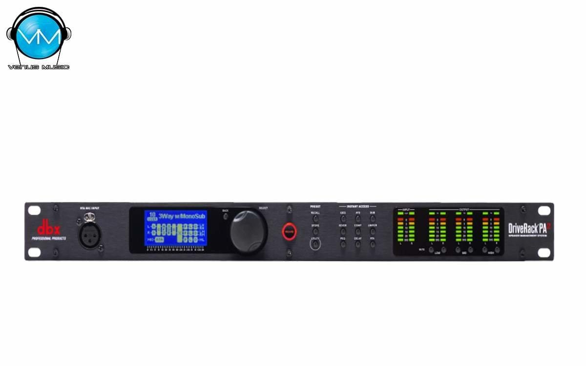 Driverack PA2 DBX Sistema Completo de Administración de Bocinas 32987490239
