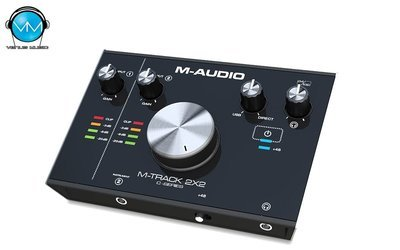 Interfaz de Audio M-Track 2x2M USB 24 Bits M-Audio