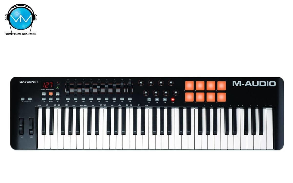 Controlador M-Audio 61 Teclas Oxygen 61 IV 90325202
