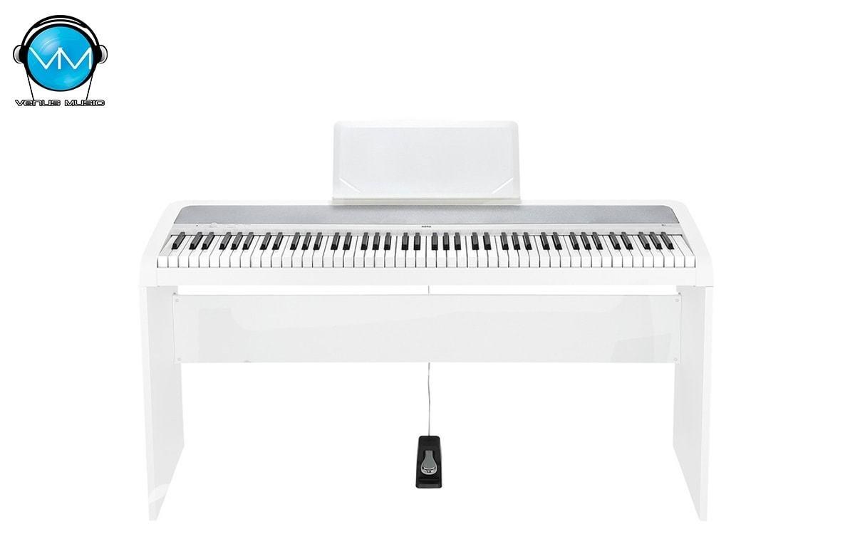 Piano Digital Korg B1 White con Base 937829852