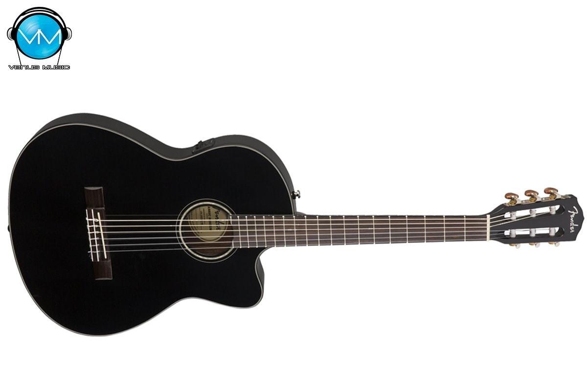 Guitarra Fender Electroacústica CN140SCEBK THINLINE 53298702