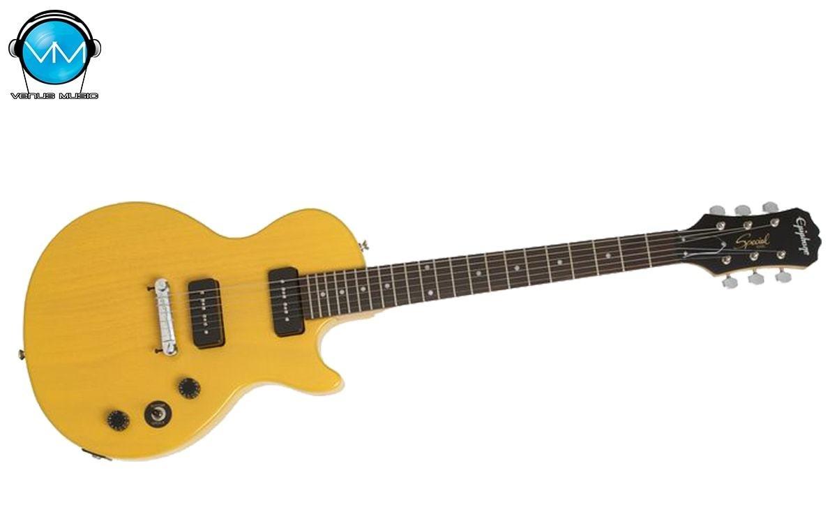 Guitarra Eléctrica Epiphone Les Paul Special I Worn TV Yellow 52309582