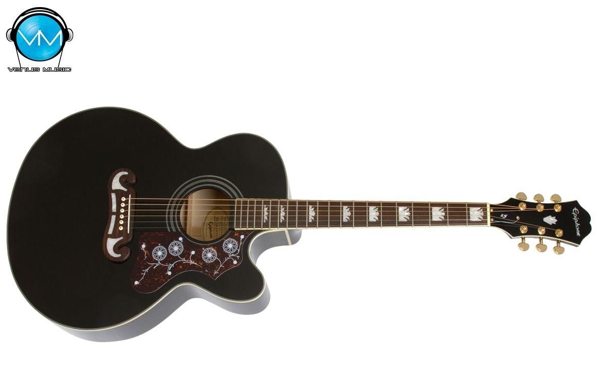 Guitarra Electroacústica Epiphone EJ200CE Black 3290840230
