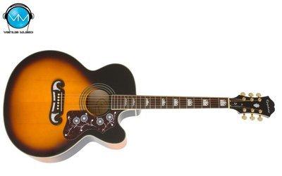 Guitarra Electroacústica Epiphone EJ200CE Sunburst