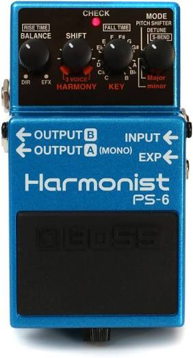 Pedal Boss PS6 Harmonist 999919
