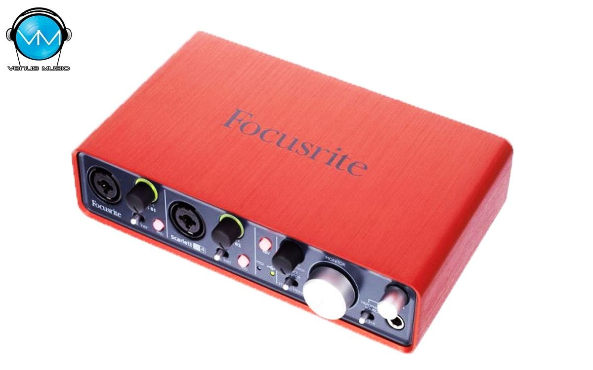 Interface USB Scarlett Focusrite 2i4 54398063