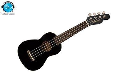 Ukulele Negro Fender Venice Soprano