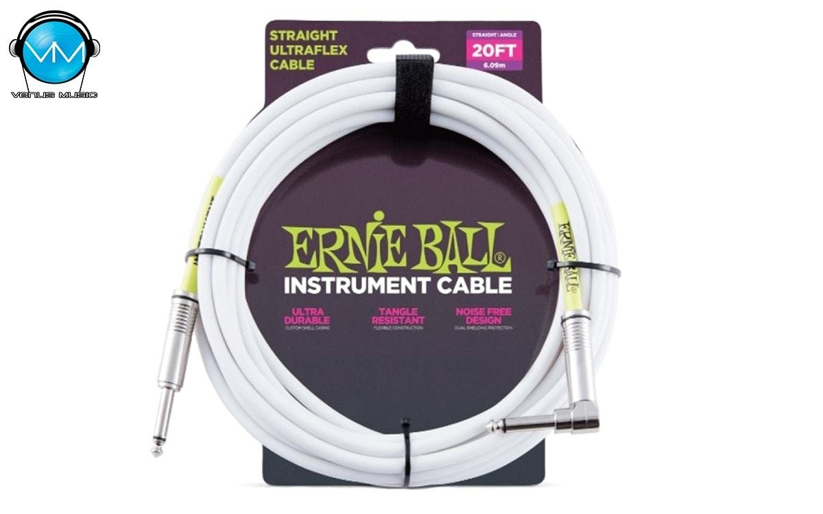 Cable para Instrumento Ernie Ball 6.09 M Recto/Angulado 6047 54398053