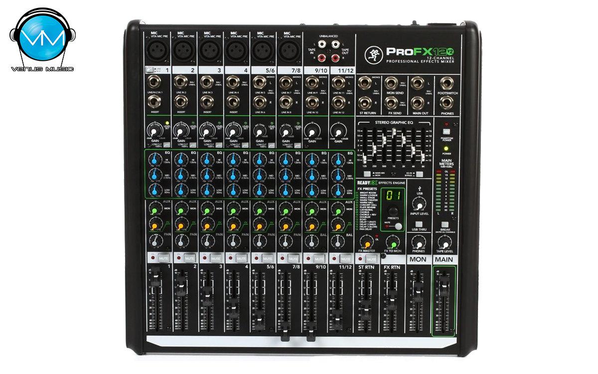 Mezcladora Mackie PROFX12V2 con Efectos y USB 12 Canales 325892093