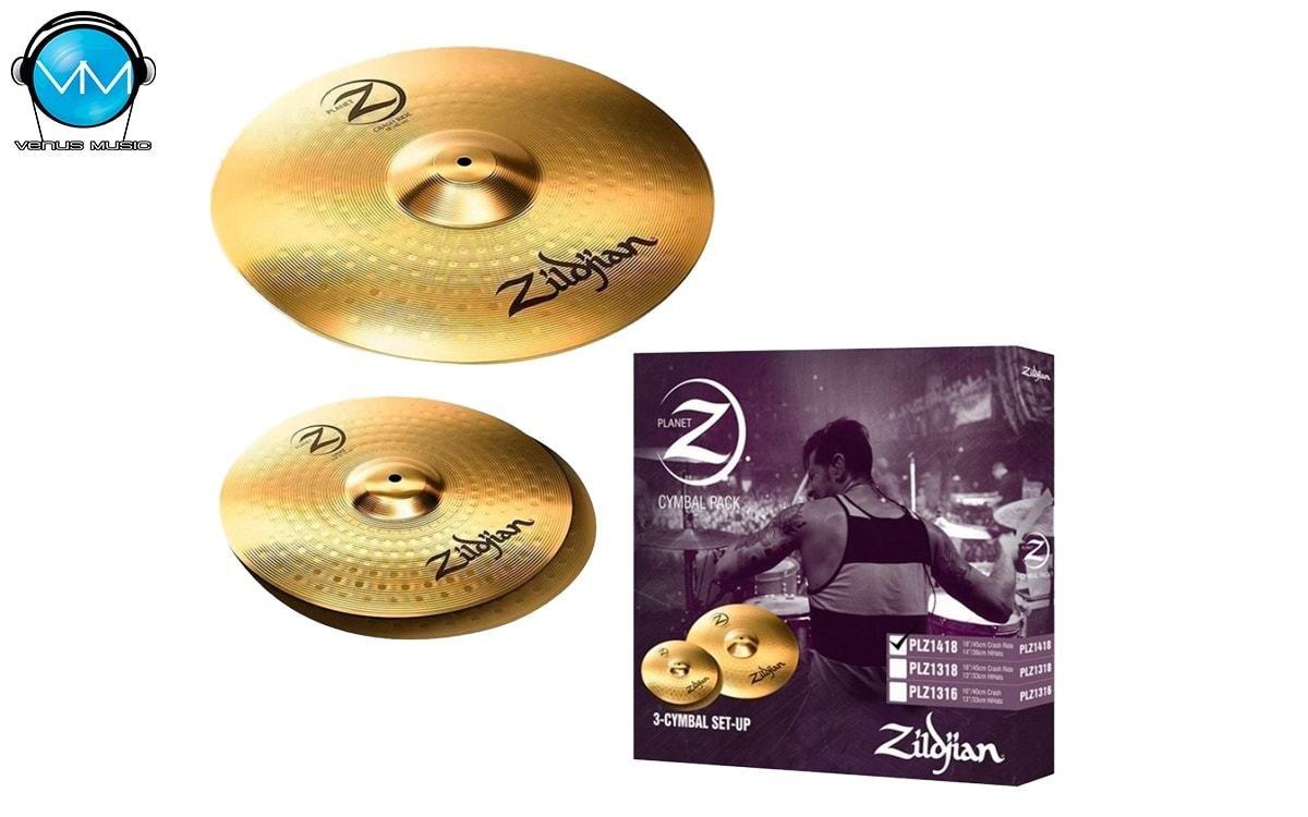 Pack Platillos Zildjian Planet Z PLZ1418 3259208023