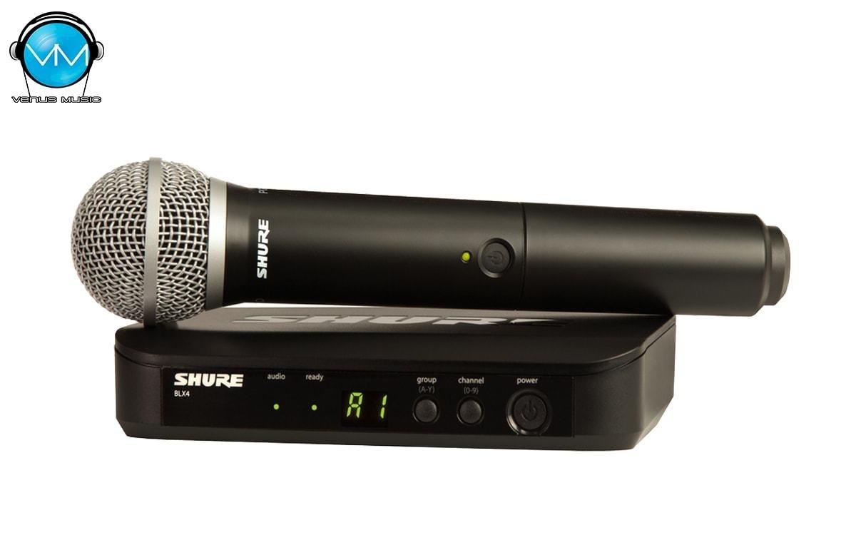 Sistema Inalámbrico Shure Vocal de Mano BLX24/PG58 95328032