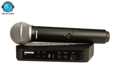 Sistema Inalámbrico Shure Vocal de Mano BLX24/PG58