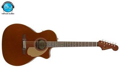 Guitarra Electroacústica Fender Newporter Player Rustic Copper