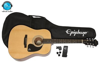 Guitarra Acústica Epiphone Player Pack FT100 Natural