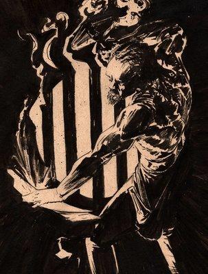 Inktober #25 - Voodoo