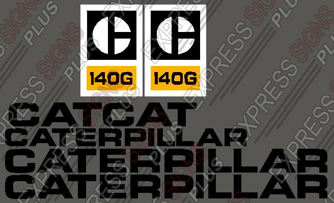 Caterpillar - Motor Grader - (12G, 120G, 14G, 140G, 130G) - Old Style