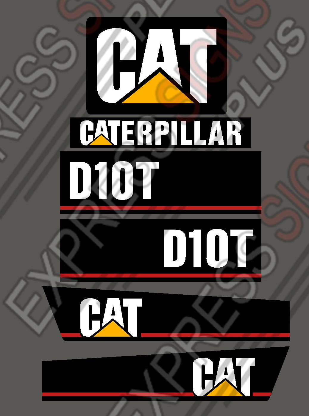 Caterpillar dozer d10t new pyramid style