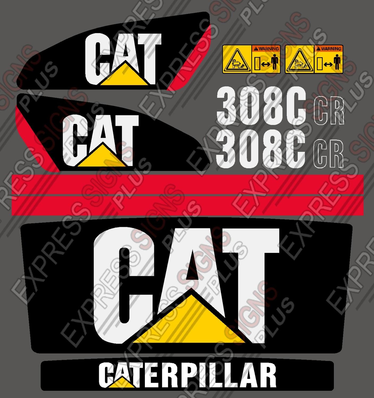Caterpillar excavator 308c 308cr new new pyramid style