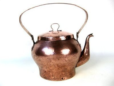 228 Antique Copper Kettle