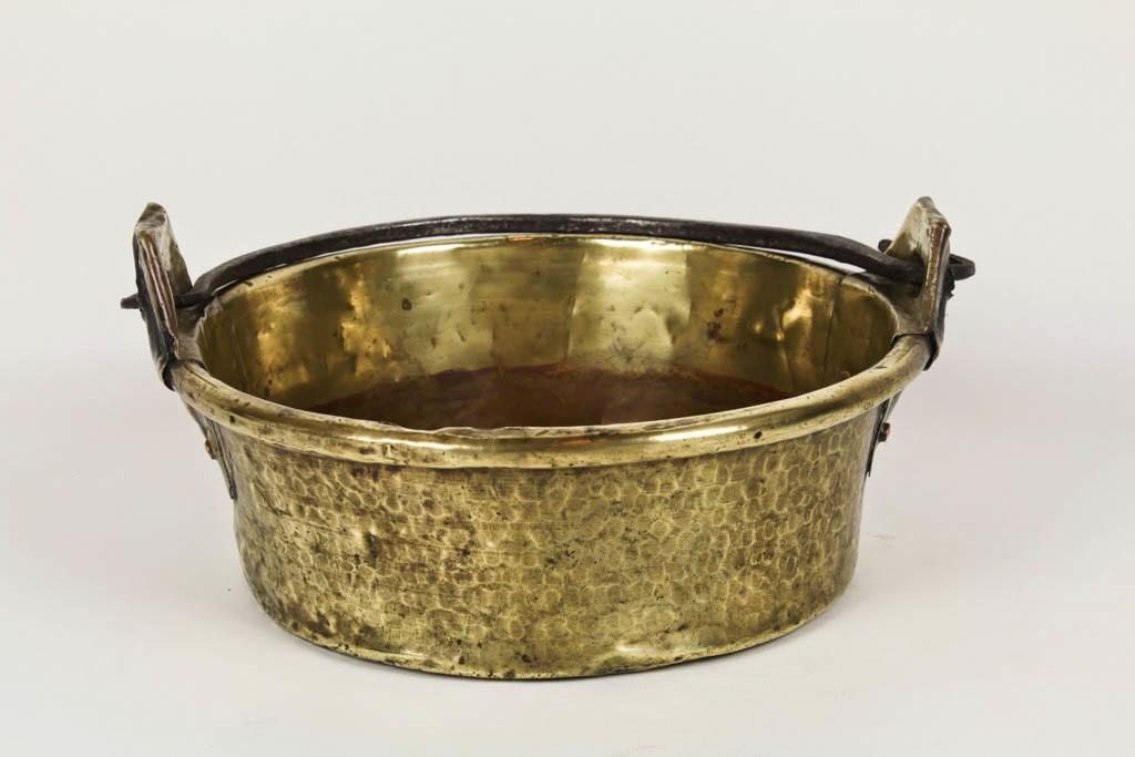 Small Brass Cauldron