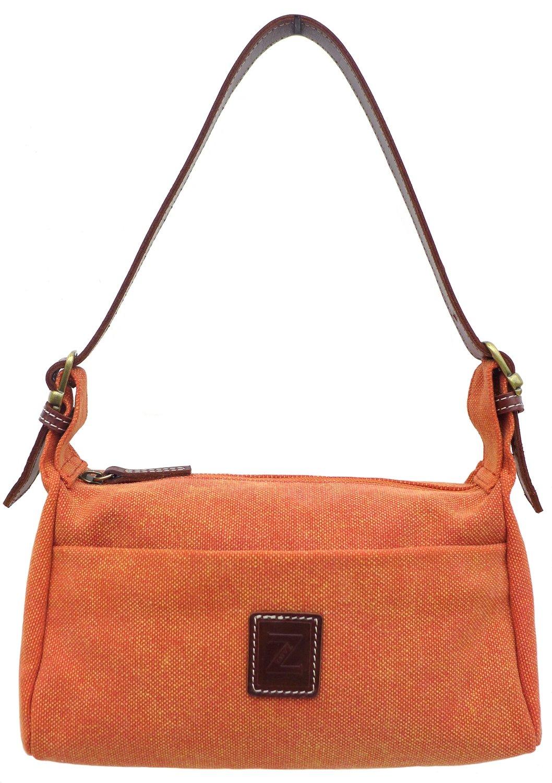 Small shoulder purse (rust)