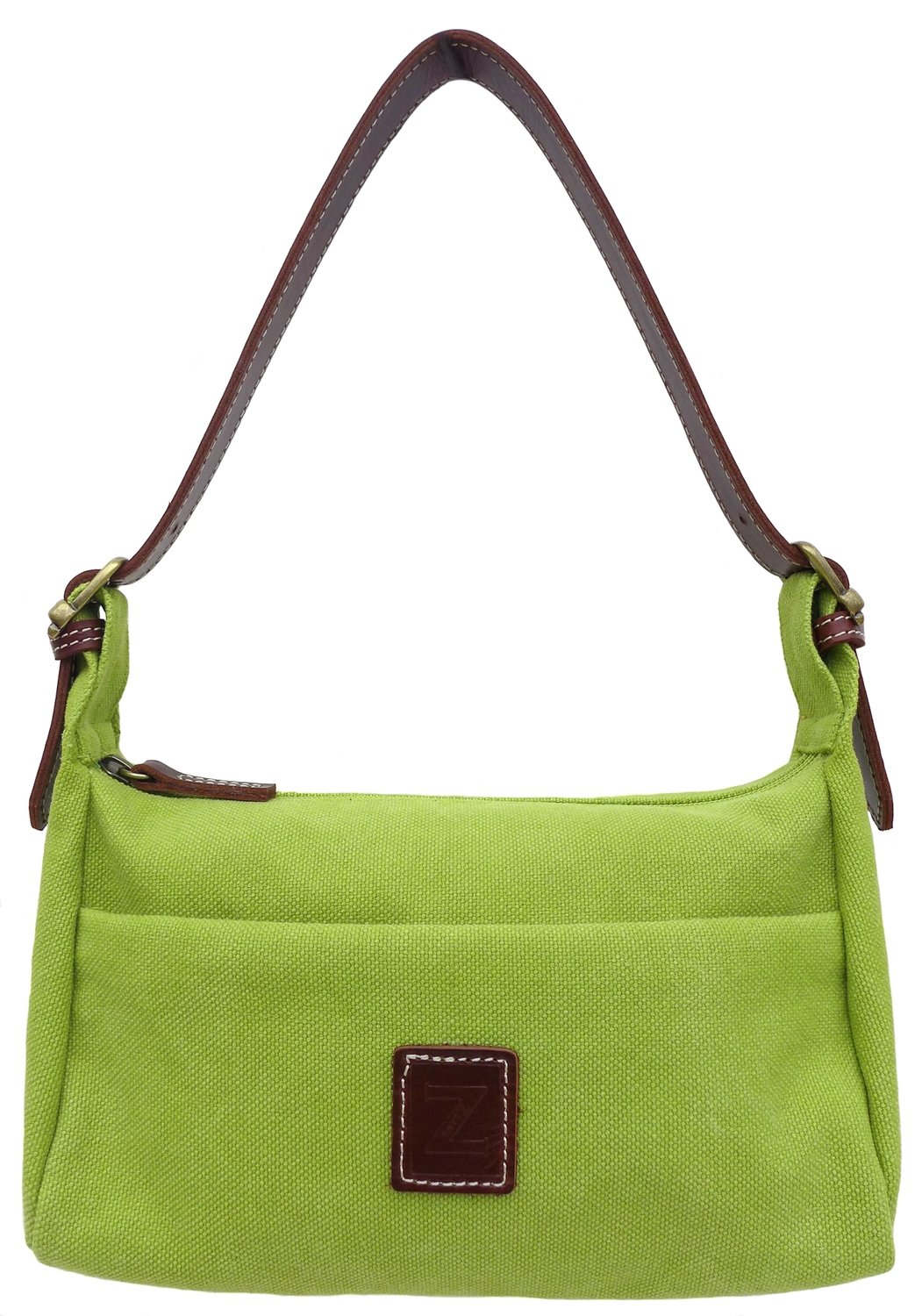 Small shoulder purse (lime)
