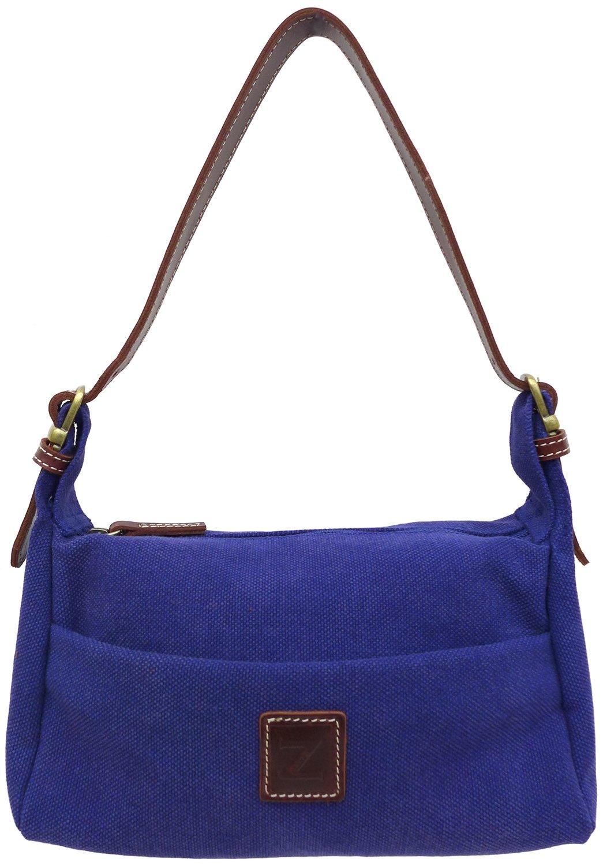 Small shoulder purse (blue)