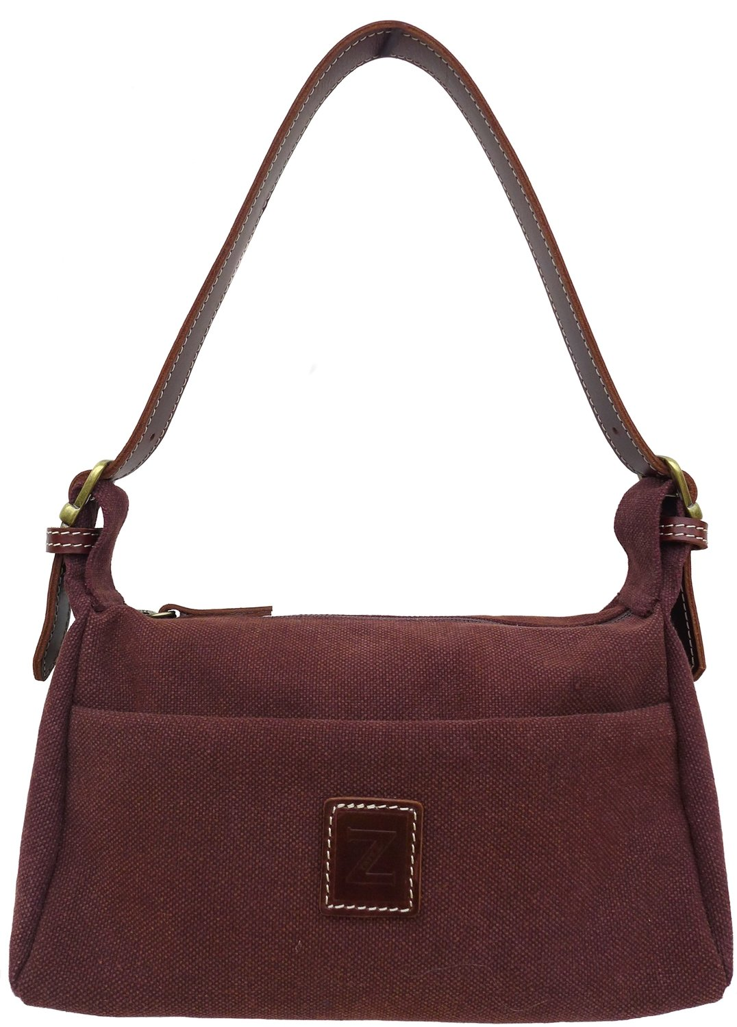 Small shoulder purse (brown)