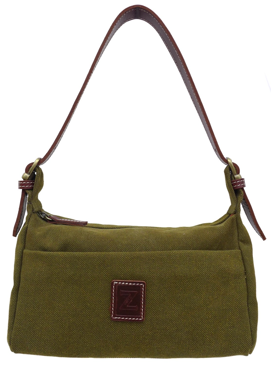 Small shoulder purse (olive)