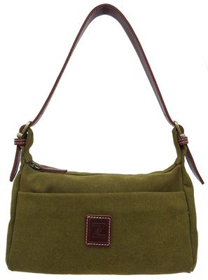 Small shoulder purse (olive)