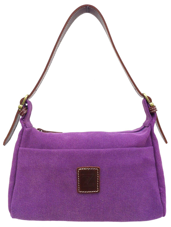 Small shoulder purse (plum)