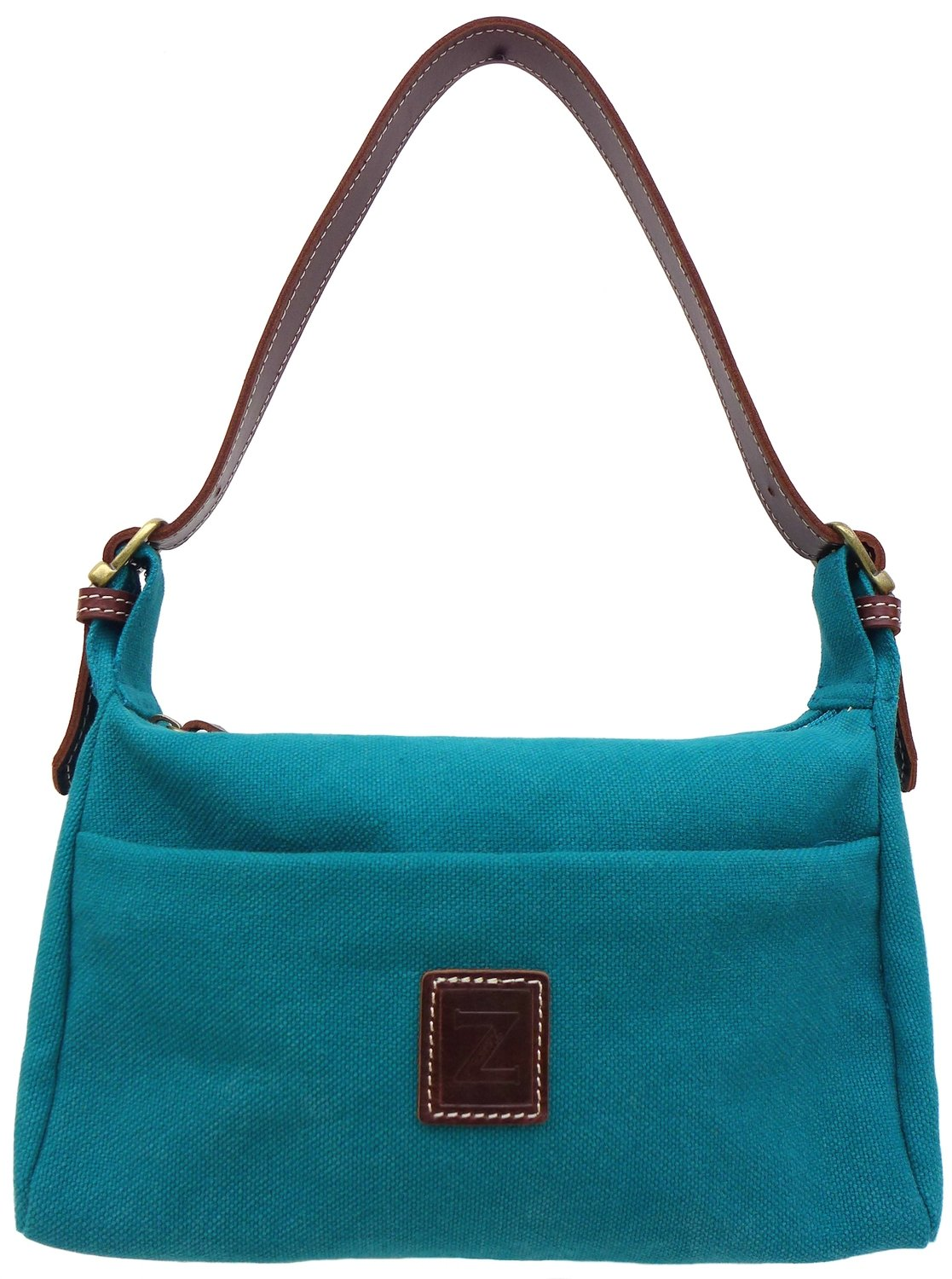 Small shoulder purse (teal)