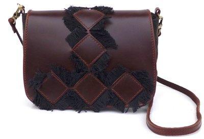 Small messenger bag (black)