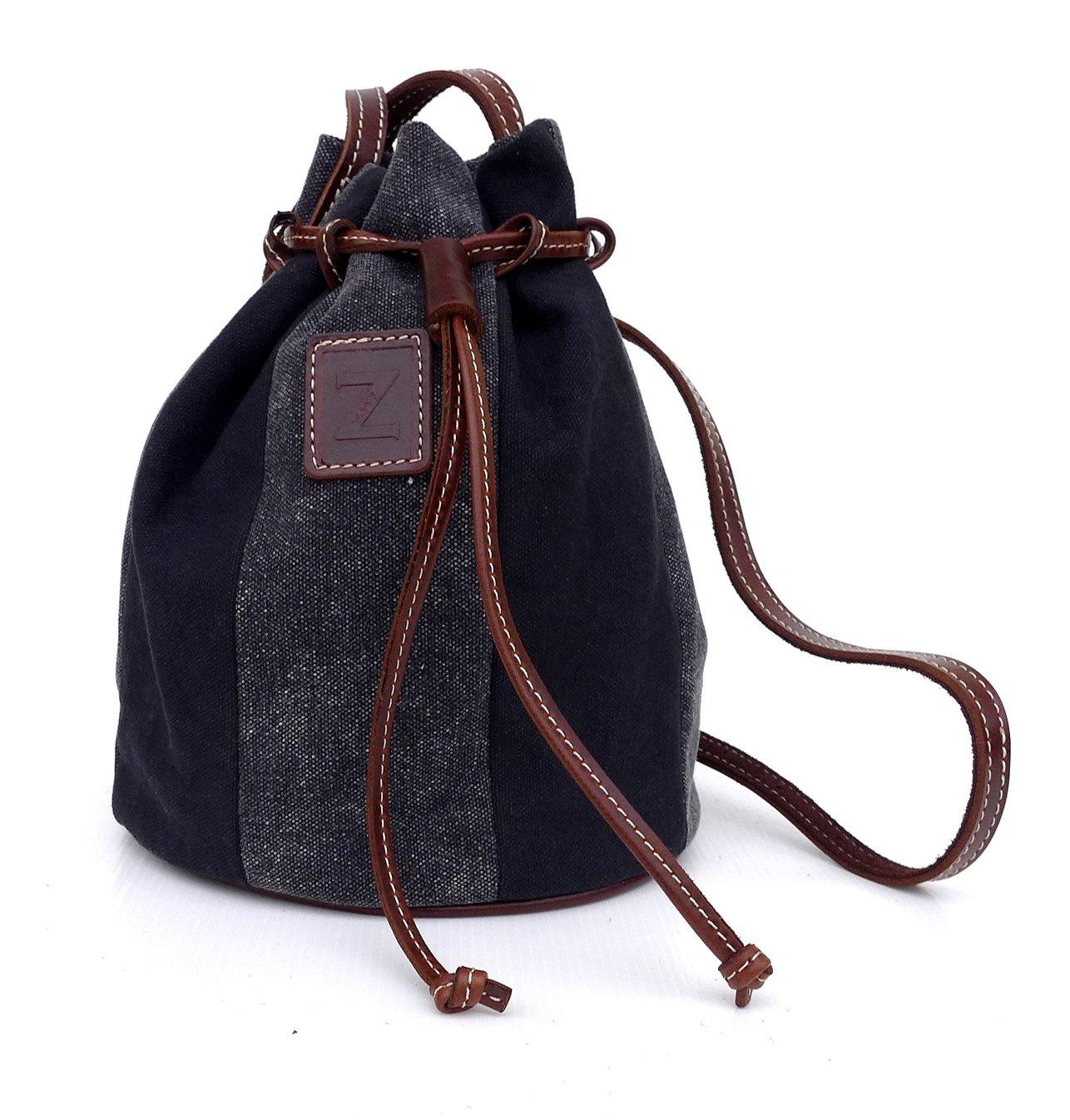 Small bucket bag (black)