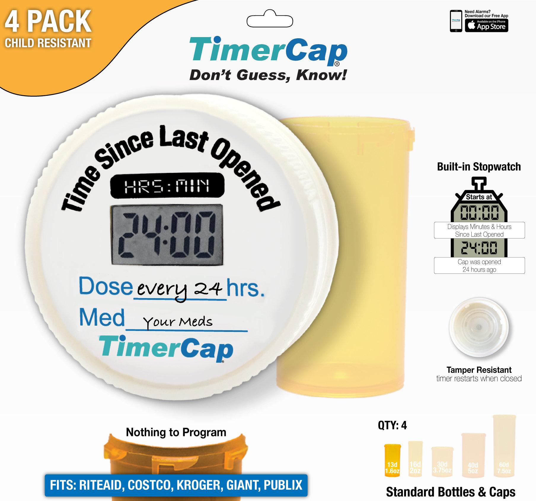 Rite-Aid Bottles - TimerCaps 00010008