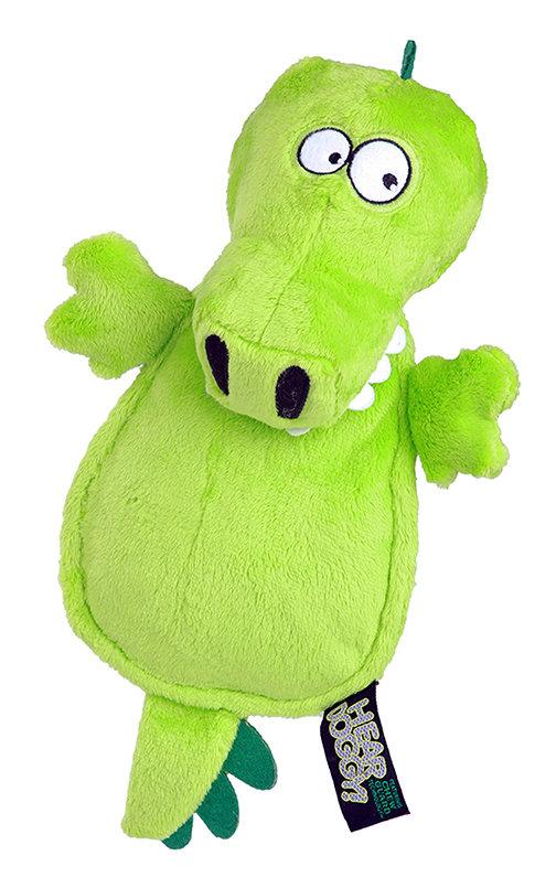 Hear Doggy Gator Flattie Green