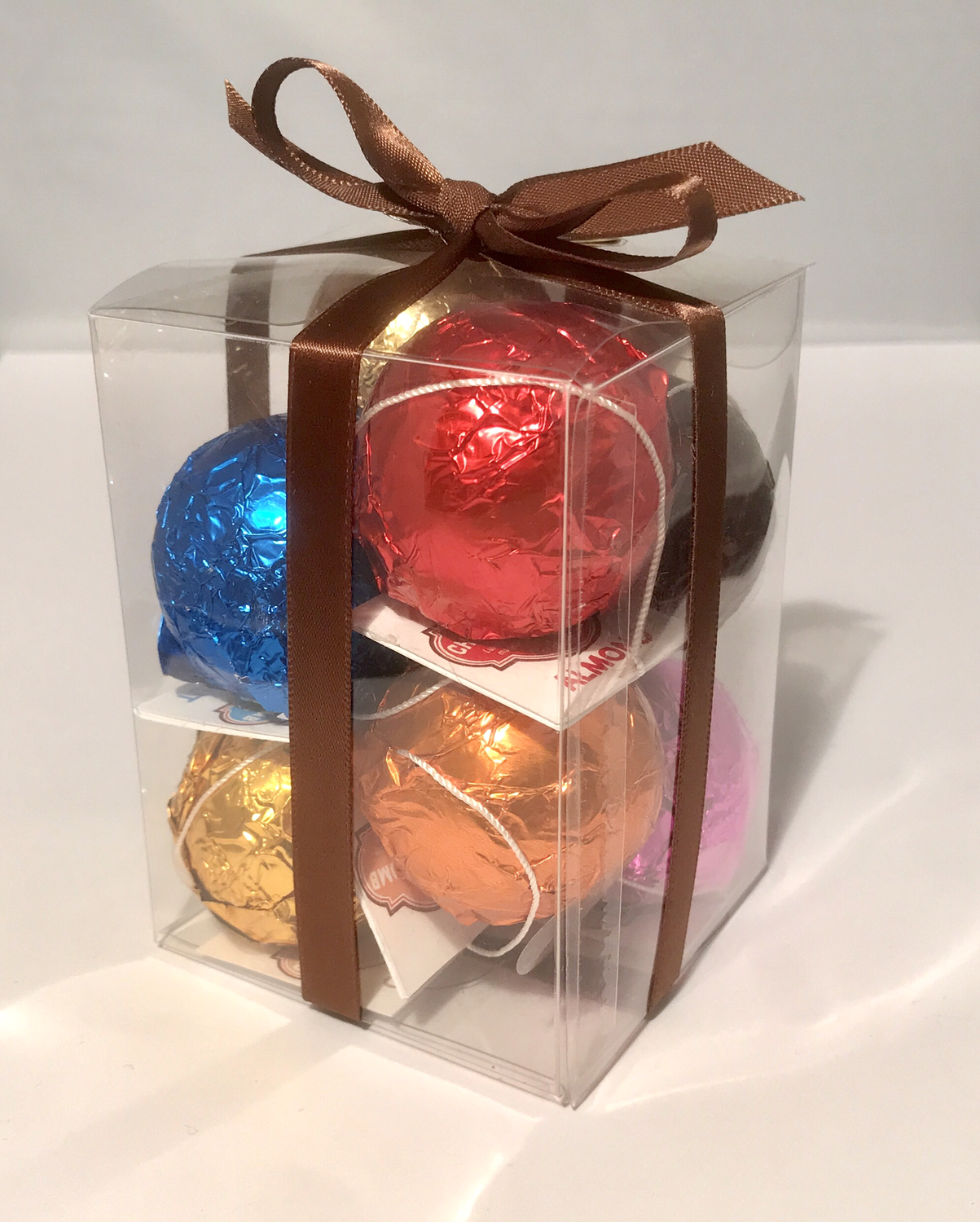 Box Of 8 Belgian Hot Chocolate Bombs 8 Flavours