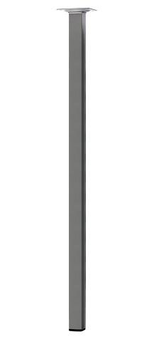Ножка мебельная квадратная 25*25*800 мм.