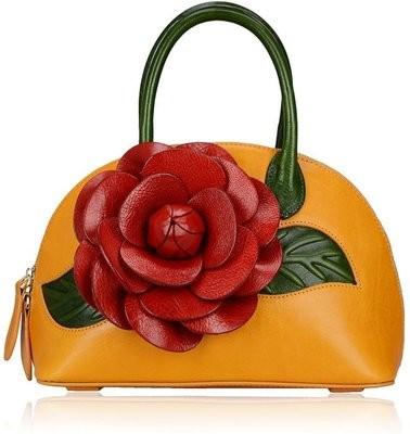 The Rosy Leather Handbag