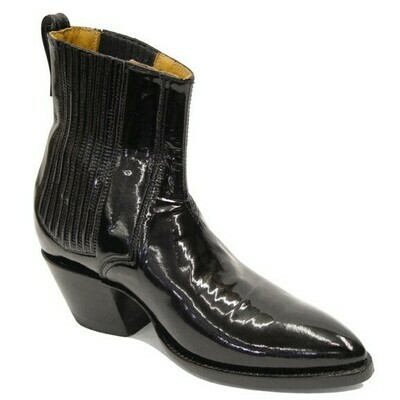 Patent Leather Ankle Boot