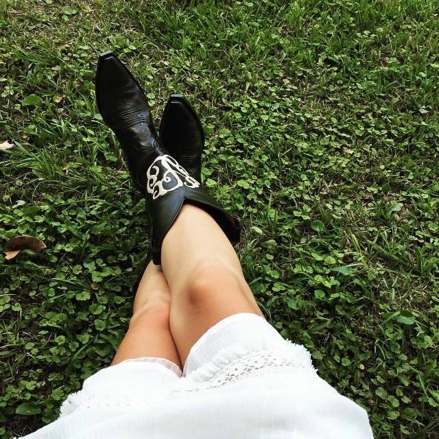Monogram Cowboy Boots