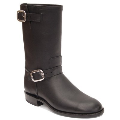 Duo Buckle Engineer Boots