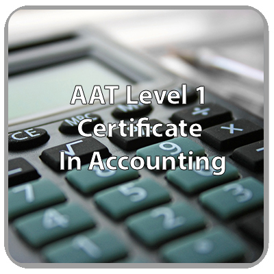 AAT - Level 1 - Certificate In Accounting