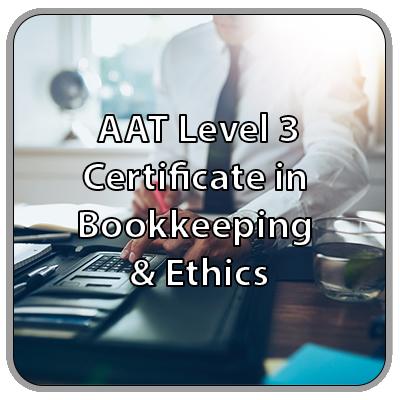 AAT - Level 3 - Certificate in Bookkeeping