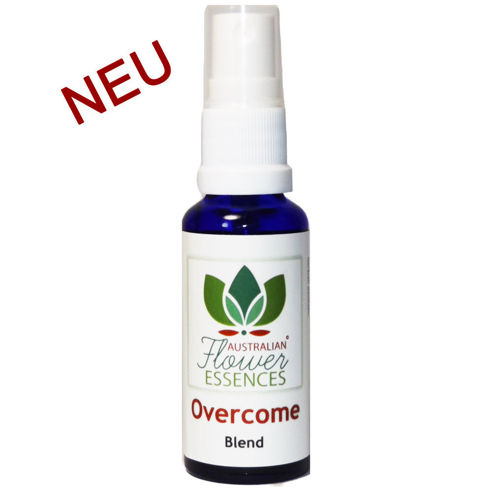 Overcome Buschblüten Vitalspray 30 ml