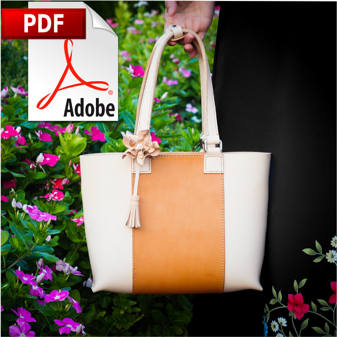Leather Spring Tote Bag Tutorial