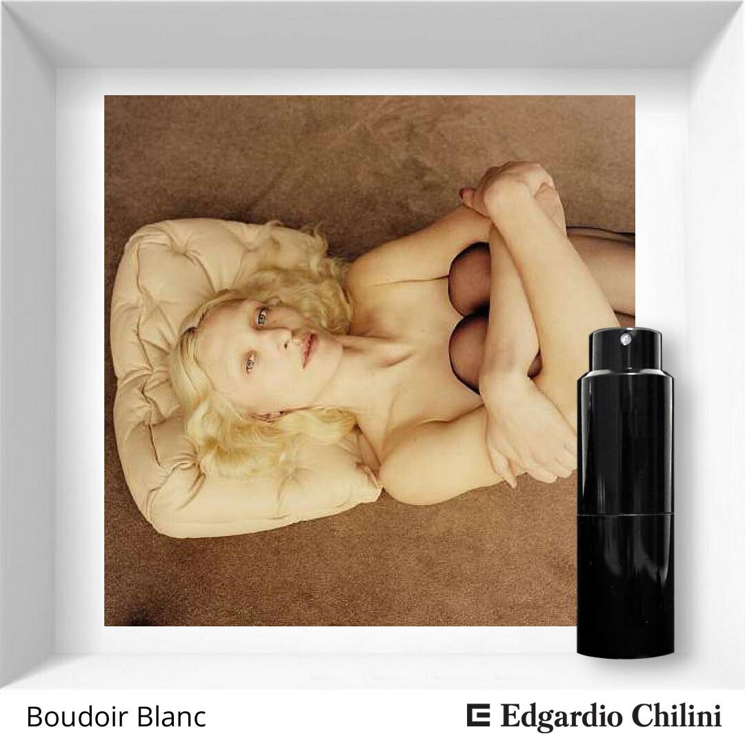 Edgardio Chilini, Boudoir Blanc, peony flower fragrance
