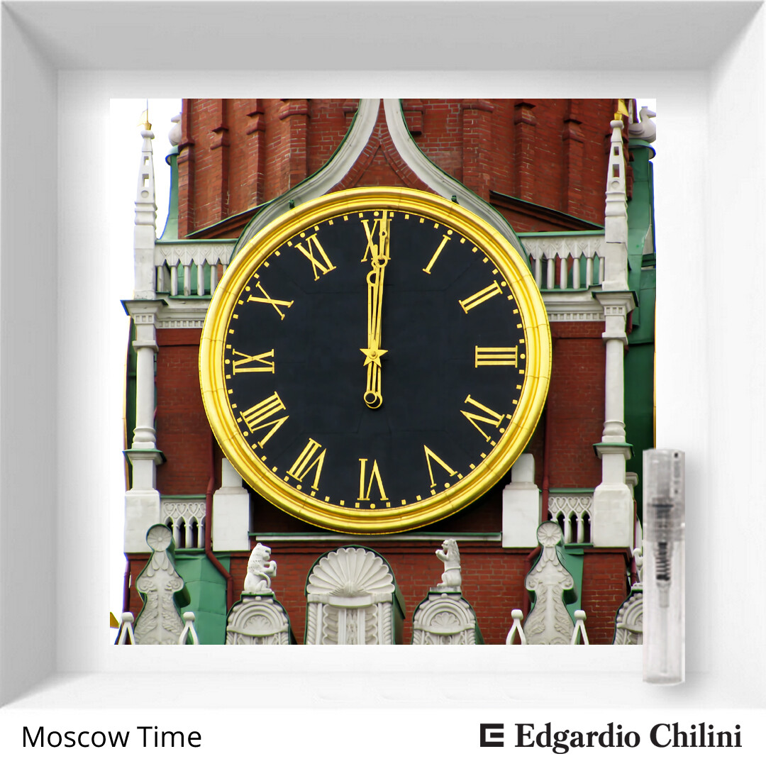 Цитрусовый, зеленый аромат Moscow Time, Edgardio Chilini, 2 ml