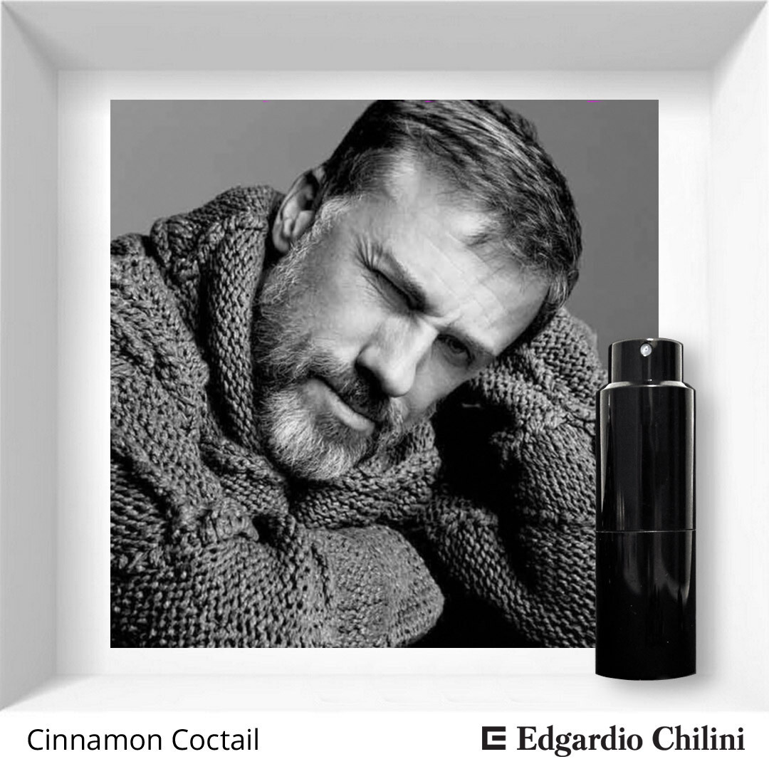 Edgardio Chilini, Cinnamon cocktail, cinnamon sweet fragrance