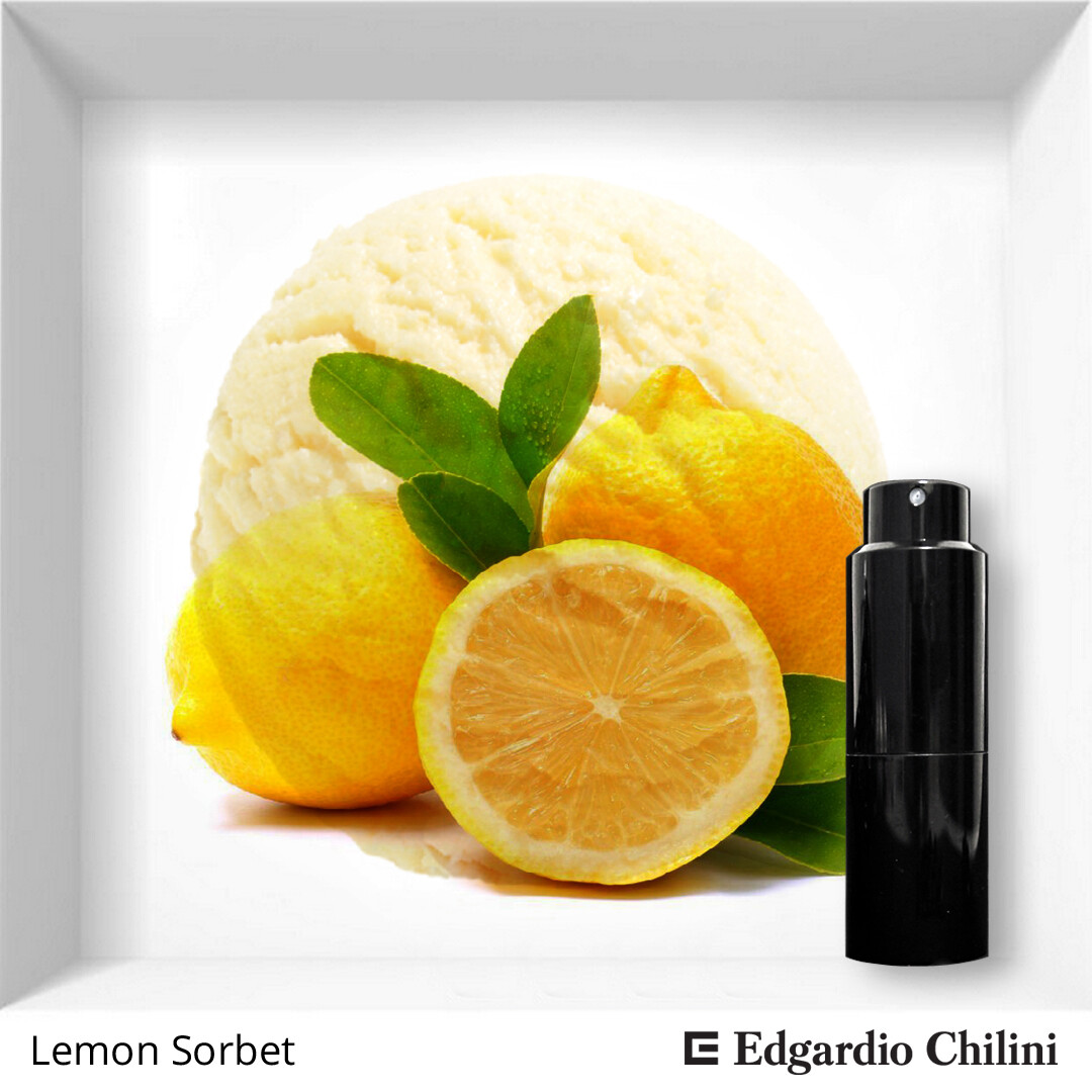 Цитрусовый аромат Lemon Sorbet, Edgardio Chilini